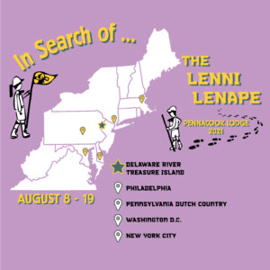 """August 8-19~""""In Search of the Lenni Lenape"""" Summer Trip"""